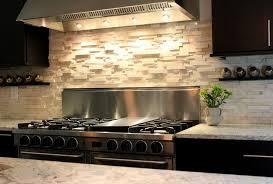modern kitchen stone backsplash. Delighful Kitchen Stacked Stone Backsplash Combination For Modern  Kitchen Interior In