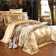 king size bedding sets luxury jacquard silk bedclothes bedding set luxury 4 gold satin bed set king size bedding sets