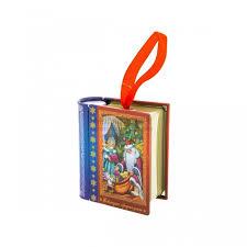 <b>FP Новогоднее</b> елочное украшение Книга с пожеланием внутри ...