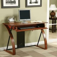 Classic Oak Wood Desk with Keyboard Tray - Free Shipping Today -  Overstock.com - 16291371