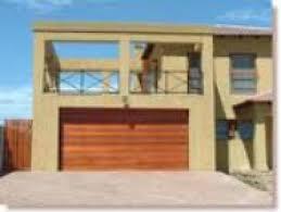 wood double garage door. Horizontal Slatted Double Door Wood Garage