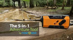 Best Multipurpose <b>Emergency</b> Radio <b>Outdoor Camping</b> 5-in-1 ...