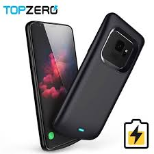 Battery <b>Charger</b> Case For Samsung Galaxy S9 S8 Plus Soft TPU ...