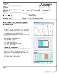 city multi mitsubishi vrf warranty j