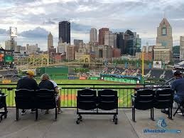 Pnc Park Interactive Seating Chart Accessible Gameday Pittsburgh Pirates Baseball