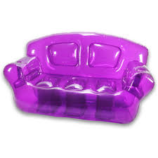 ... Marvelous Room Decoration Ideas With Inflatable Chairs For Kids  Interior Design : Artistic Purple Plastic Bubble ...