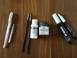 drawing tools. WHITE Drawing Tools