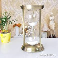 60 minute hourglass sand timer high quality metal big 1 hour minutes large roj arena la