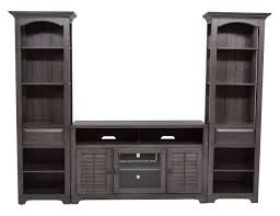 Austin TV Console \u0026 Bookcase in Brown Entertainment Centers   Save Mor this Holiday Season
