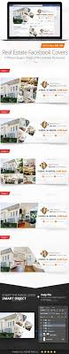 real estate facebook covers template psd design graphicriver