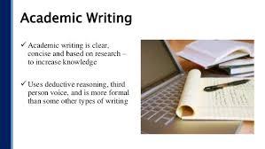 Academic Writing Academic