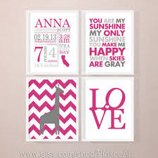 newborn baby announcement sample best birth stats wall art products on wanelo