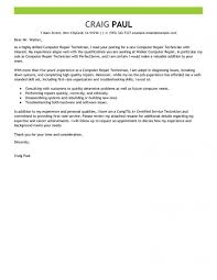 Well Written Technology Cover Letters Examples Korest Intended For