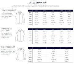 Mizzen And Main Size Chart Mizzen Main Leeward Soyer Performance Shirt Zappos Com