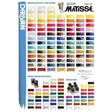 Matisse Colour Chart Details About Derivan Matisse Flow Paint 75ml Australian Ghost Gum S1