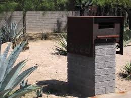 mailbox designs. Image Of: Granite Mailbox Post Ideas Designs