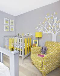 baby nursery yellow grey gender neutral. If You\u0027re Avoiding The Pink Or Blue Route, Try Grey And Yellow For A Stunning Gender Neutral Nursery Baby