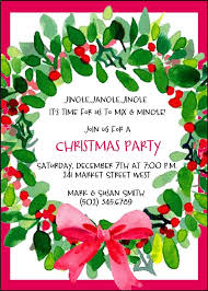 Christmas Invitations Party