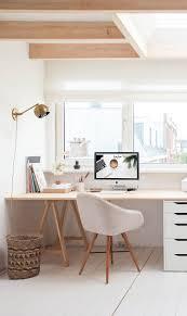 designer office space. Workstation / Workplace Home Office With Lots Of Natural Light Minimalism. ❤ Inspiração I Móveis E Acessórios Designer Space
