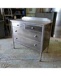 simmons metal furniture. 1939 Simmons Metal Dresser In Brushed Steel (partial Payment) Furniture I