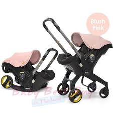 doona infant car seat stroller blush pink
