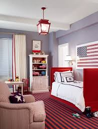 red and white furniture. Red, White And Blue Bedroom Red Furniture O