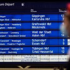 """""""die gdl wird nicht zu warnstreiks von einigen stunden oder einem tag aufrufen. Deutsche Bahn Streik Bei Der Bahn Fruhere Ankundigung Nutzt Reisenden Svz De"""