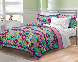 girl bed sheets cozy home pattern bedding chevron