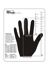 Golf Grip Size Chart Winn Golf Grip Size Fitting Related Keywords Suggestions Golf