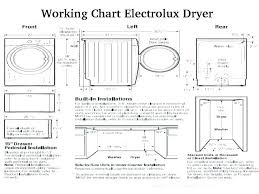 Washer And Dryer Sizes Chart Washer And Dryer Dimensions Depth Standard Closet
