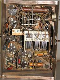 silvertone 7 tube all electric console radio sears roebuck this means a second coil is used in conjunction the field coil for the loudspeaker this special coil which is wired in series