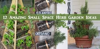 Small Picture 12 Amazing Small Space Herb Garden Ideas DIY Scoop