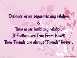 Long Distance Friendship Quotes Gorgeous 48 Best Quotes About Distance