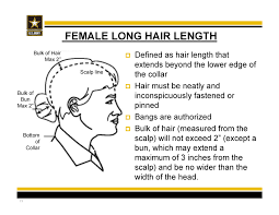 New Army Hair Regulations Ar 670 1 As Of 31 March 2014