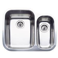 blanco supreme undermount stainless steel 26 in double bowl kitchen sink