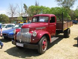 Chevrolet Series A / Y, B / M, C / O, D / P (Commercial vehicles ...