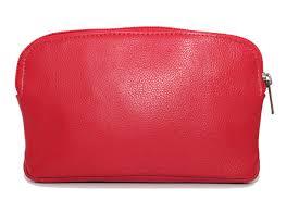 Designer Leather Makeup Bag Ashlin Designer Millie Compact Cosmetic Bag With Top Zipper Pebbled Cowhide Leather T7444 48