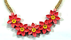 Quilling Chain Designs 12 Awesome Paper Quilling Jewelry Designs To Start Today