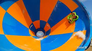 Slide Circle Tornado Water Slide Funnel Ride Wet N Wild Water Park Youtube