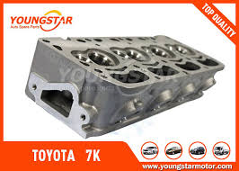 High Performance Toyota 7k Engine Cylinder Head With 11101 - 06030 ...