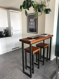 breakfast bars furniture. Wonderful Breakfast Industrial Mill Style Reclaimed Wood Breakfast Bar  Two Stools And Breakfast Bars Furniture