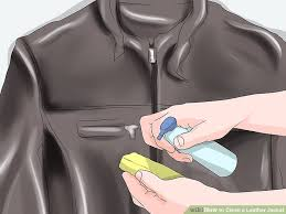image titled clean a leather jacket step 2