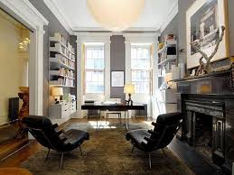 Study Office Design Home Pinterest Astounding 33 Stylish And Dramatic Masculine Home Office Design Ideas With Gray Sophisticated Study House Ideas