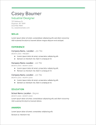 sample resumes for it jobs 45 free modern resume cv templates minimalist simple