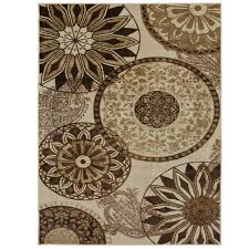 mohawk home inspired india neutral 8 ft x 10 ft area rug