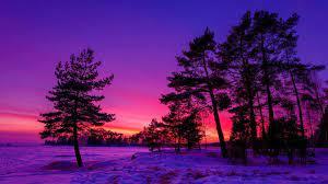 30 Winter Sunset Wallpapers - Wallpaperboat