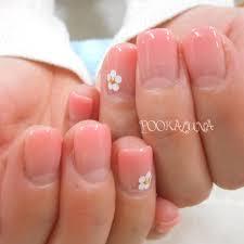 Pookaluna さんのネイルデザイン シンプル定額ピンクグラデー