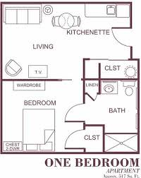 Assisted Living Floor Plans  Lynden Manor  Lynden WAAssisted Living Floor Plan