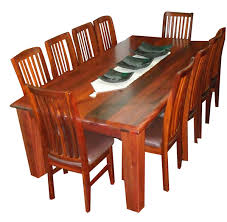 dining table 10 chairs. d205j \u2013 canberra jarrah 2100 dining suite $3498 table 10 chairs r