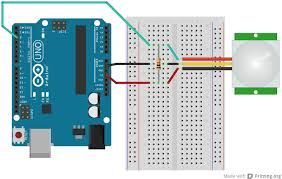 infrared pir sensor (with open collector) arduino anomalous how to wire a sensor light switch at Wiring Diagram Pir Sensor